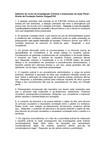 Gabarito do curso de Investigação Criminal e Instauração da Ação Penal