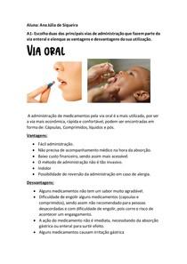 A1- TERAPEUTA MEDICAMENTOSA