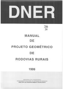 DNER 1999 PRojeto geometrico
