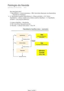 Fisiologia da tireoide