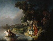 Rembrandt - The Rape of Europe