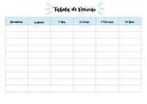 Tabela de Revisão