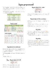Resumo de Matemática - Lógica proposicional