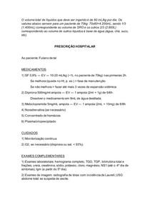 Prescrição dengue - grupos C e D