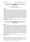 Psicologia como ciencia moderna