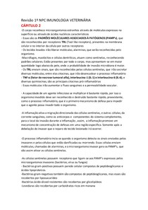 Revisão 1º NPC IMUNOLOGIA VETERINÁRIA