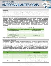Protocolo de anticoagulantes orais