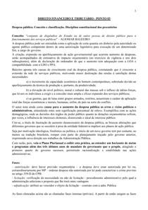 DIREITO FINANCEIRO E TRIBUTÁRIO - PONTO 03