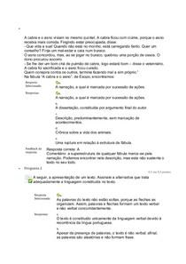 Estudos disciplinares VIII   Questionário 1