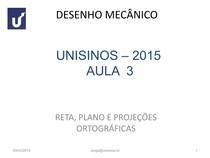 Desenho Mecânico Aula 3_2015-1