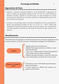 RESUMO FABRICAÇÃO DA AGUARDENTE_TECNOLOGIA DE BEBIDAS