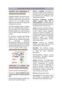 Hipotireoidismo e hipertireoidismo