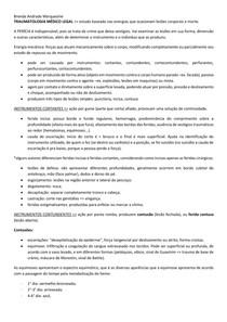 TRAUMATOLOGIA MÉDICO LEGAL