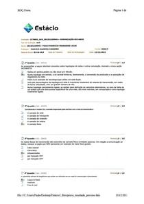 AV3 Comunicação de Dados - Paulo Mauricio