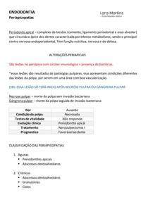 ENDODONTIA - diagnóstico de periapicopatias