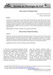 Observação em psicologia clinica