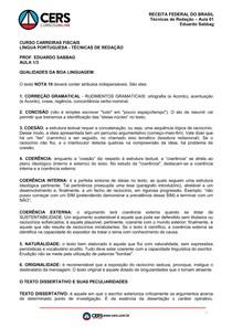 Aula 1 técnicas redação auditor fiscal