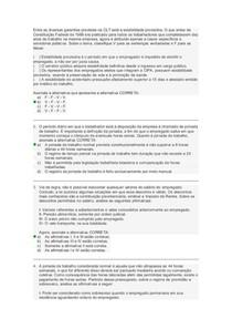 prova II flex legislaçãotrabalhista e previdenciaria ago2018