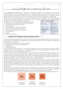 Imunodeficiencia secundária