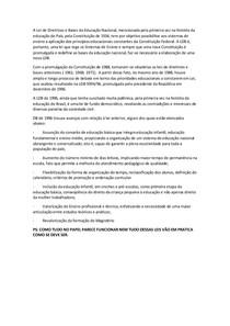 A Lei de Diretrizes e Bases da Educação Nacional(1)