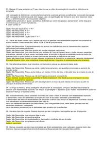AV1 Educação Especial 2013 - Prova