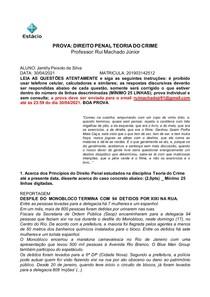 PROVA V1 _ TEORIA DO CRIME _ 2021 _ ALUNOS (1) resposta