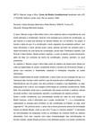 FICHAMENTO - Manoel Jorge e Silva Neto. Curso de Direito Constitucional atualizado até a EC nº 52/200. CAP.1, 2, 3
