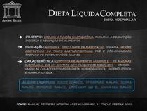 DIETAS HOSPITALARES - DIETA LÍQUIDA COMPLETA