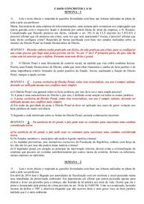 CASO CONCRETO 1 A 16 DIREITO PENAL