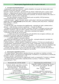 Semiologia - Mecanismos Reguladores da PA