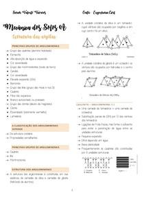 Estrutura Das Argilas E Classificação Dos Solos