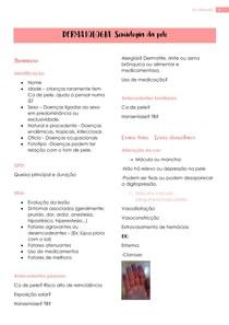 DERMATOLOGIA - Semiologia da pele