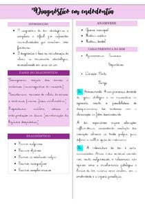 diagnostico em endodontia