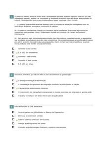 Simulados Macroeconomia - aulas 6 a 10
