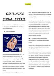 Urologia- DISFUNÇÃO SEXUAL ERÉTIL