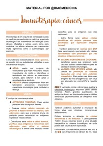Imunoterapia - câncer