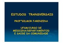 11) Estudos transversais