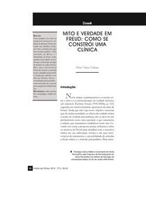 Mito e verdade em Freud