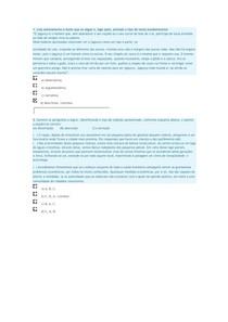 exercicio tipo de texto e tipo de redação - Aula 06