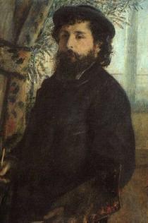 Pierre Auguste Renoir  - Claude-Monet