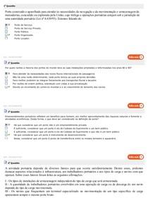 1 - 10 ORGANIZAÇÃO E ESTRUTURA PORTUÁRIA