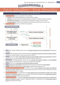 Vias de Administração e Formas Terapêuticas - Farmacologia 1