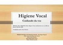 higiene vocal  - cuidando da voz - Polo Bage