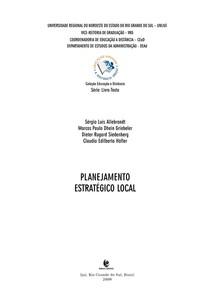 Apostila UNIJUÍ - Planejamento Estratégico Local