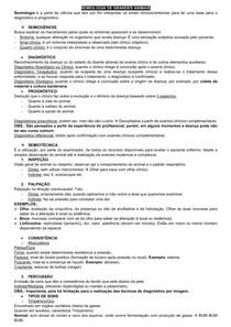 SEMIOLOGIA VETERINÁRIA: SEMIOLOGIA DE GRANDES ANIMAIS; SISTEMAS CARDIOVASCULAR, RESPIRATÓRIO E URINÁRIO DE RUMINANTES; SEMIOLOGIA DE PELE; NEUROLOGIA