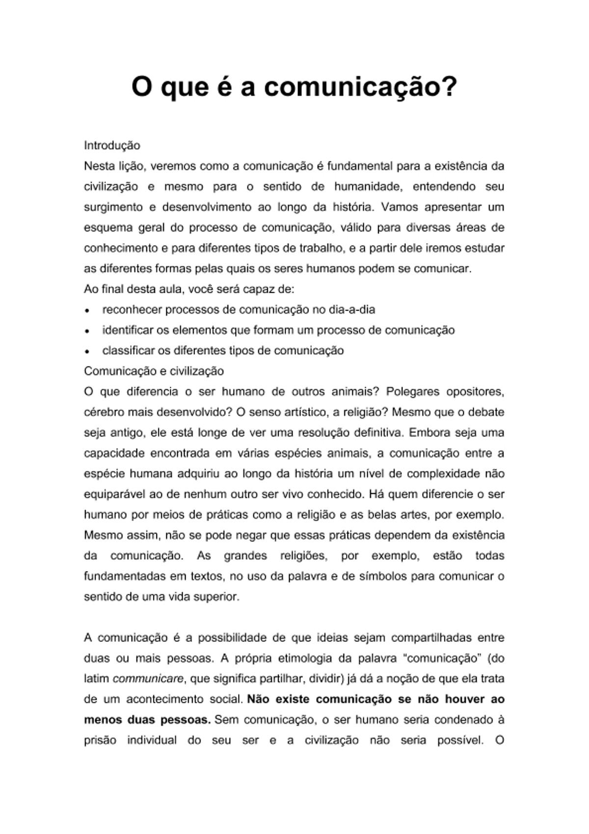 Pre-visualização do material APOSTILA DE COMUNICAÇÃO EMPRESARIAL - página 1