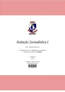 Caderno de Redação Jornalistica I