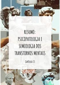 Semiologia e Psicopatologia dos Transtornos Mentais (Capítulo 21): O Juízo de Realidade e suas Alterações (O Delírio)