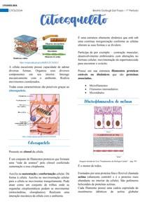 Citologia - Citoesqueleto