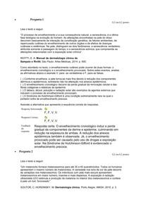 Sistema Tegumentar - atividade 2